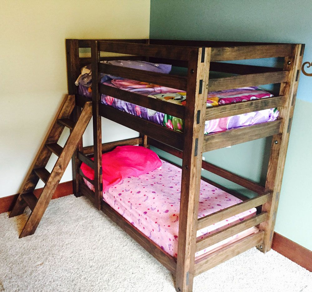 31 Free Diy Bunk Bed Plans Amp Ideas That Will Save A Lot Of