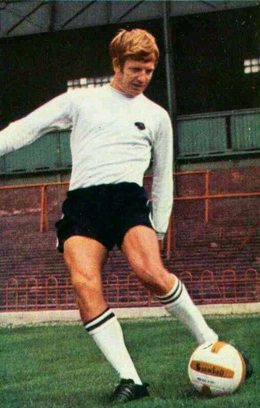 Alan Durban of Derby County in 1970.