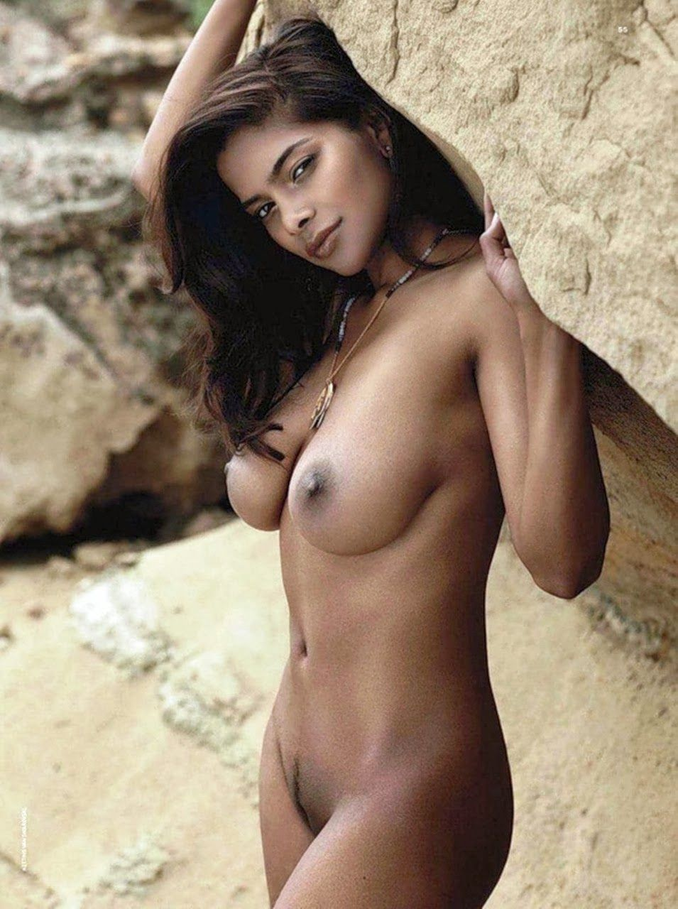 sexy naked half black women naked