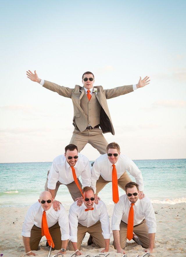 Khaki Pants White Shirt Green Tie No Vest