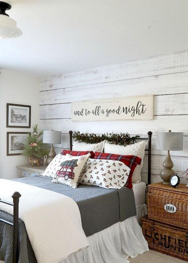 christmas bedrooms pinterest
