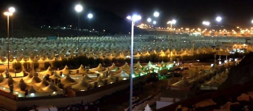 What is mina the tent city city tent islam