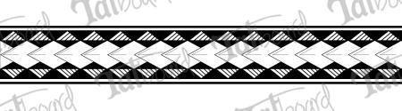 Original Hawaiian Tribal Tattoo Design   Tatboard.com #filipinotattoosideas #hawaiiantattoosforearm