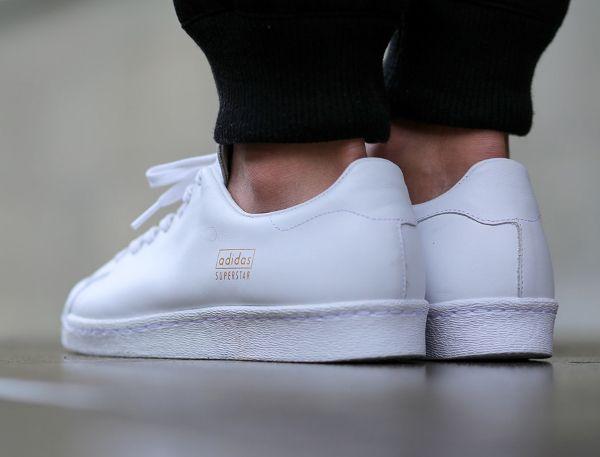 Adidas Superstar 80's Clean (White & Black) : où les acheter