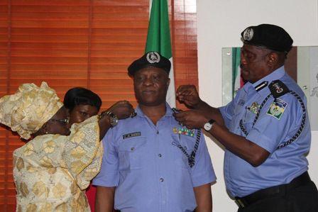 Nigeria Police Decorates Two Newly Promoted Deputy