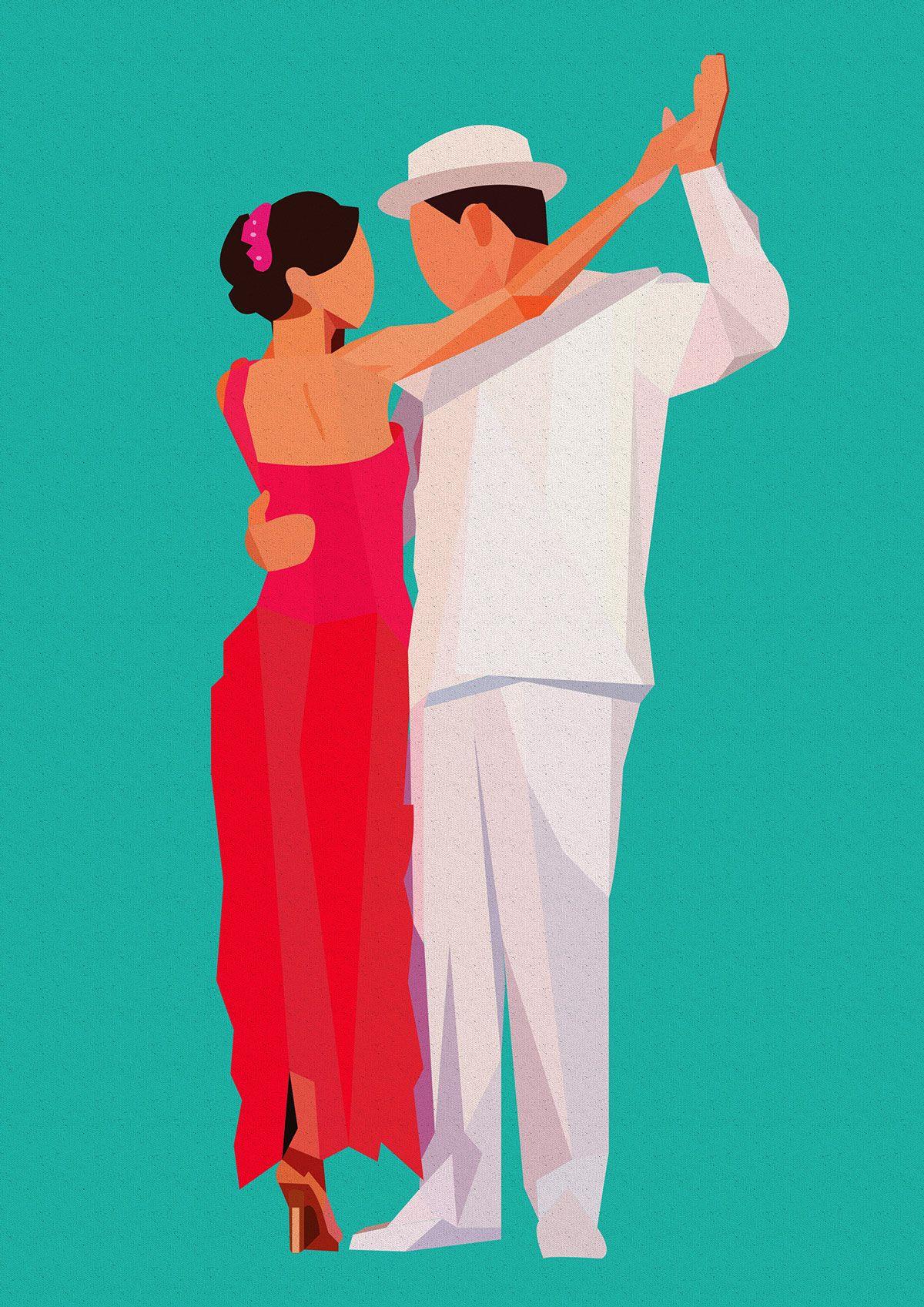 Baile serie I on Behance