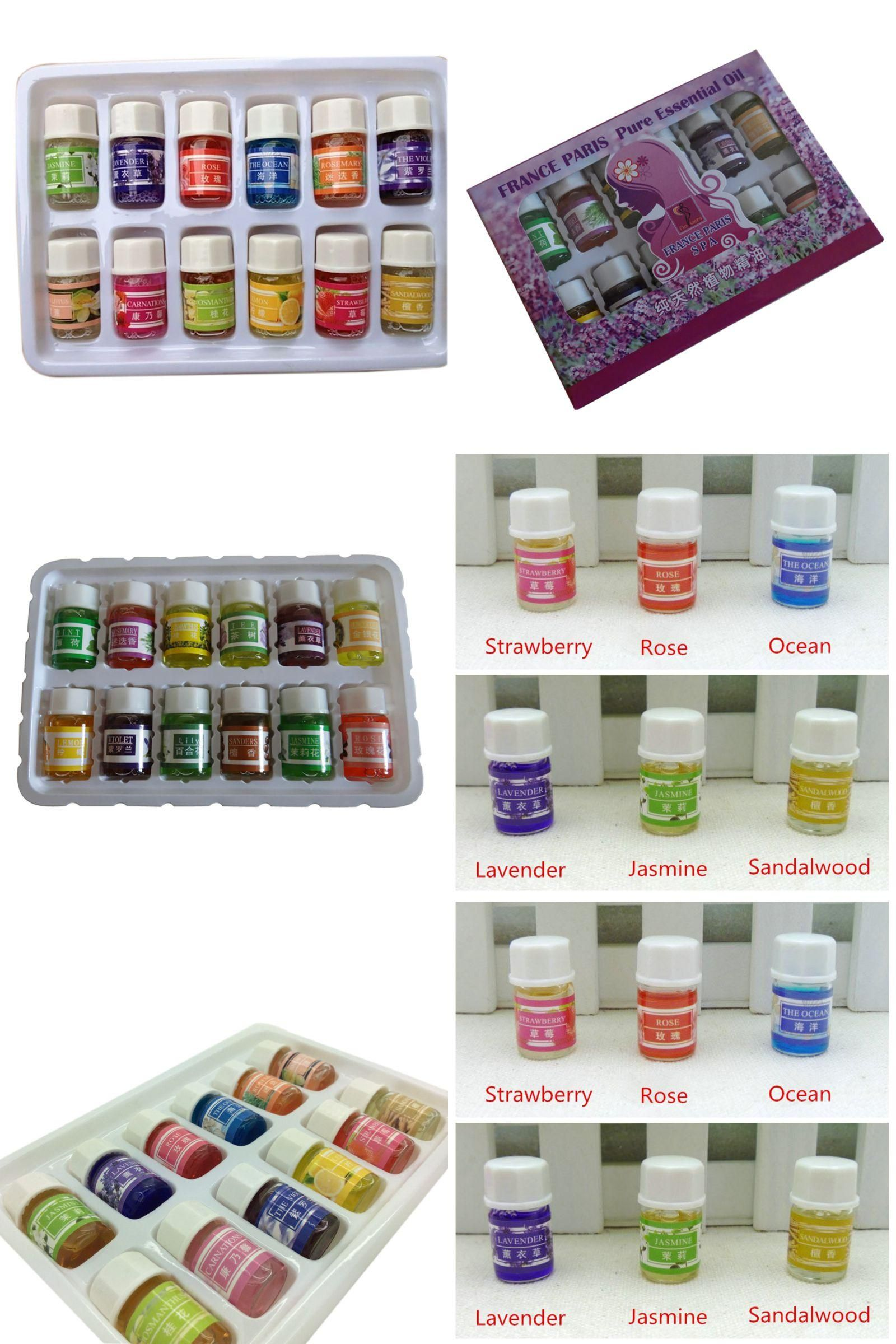 Visit To Buy 12pcs Lot 3ml Essential Oils Pack For Aromatherapy