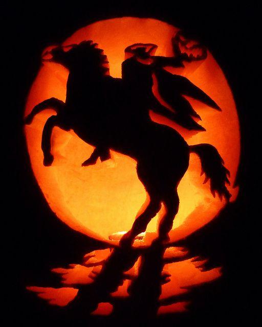Headless Horseman Pumpkin Carving Amazing Pumpkin Carving Halloween Pumpkin Designs