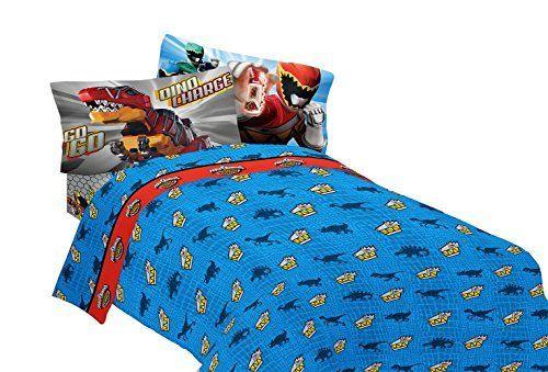 Saban Power Rangers Dinosaur Rumble Sheet Set Twin Http Www