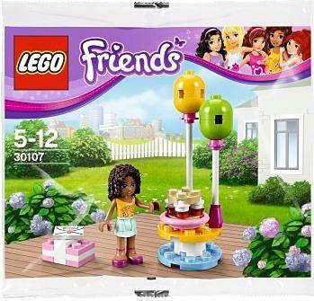 Lego friends birthday party jeu de construction 30107 dans un sac jeux et jouets - Jeux lego friends gratuit ...