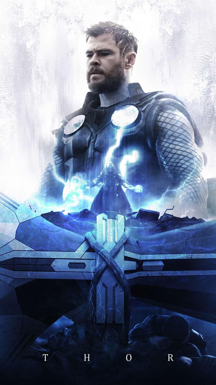 Thor God Of Thunder Asgard King Iphone Wallpaper Marvel Thor Thor Marvel Superheroes