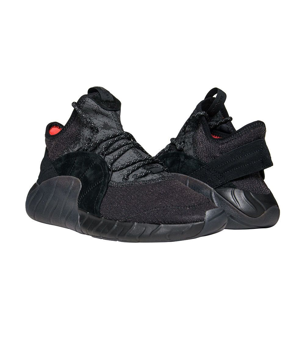 promo code 851e0 4783c Adidas Tubular Rise Triple Black BY3557 Mens New Core High Sneaker Originals