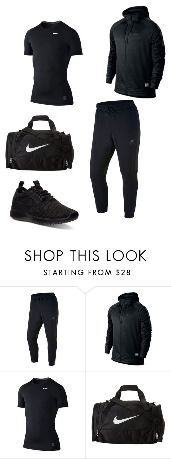 """""""Work out Man"""" by fashionwithcare on Polyvore featuring NIKE, men's fashion and menswear"""