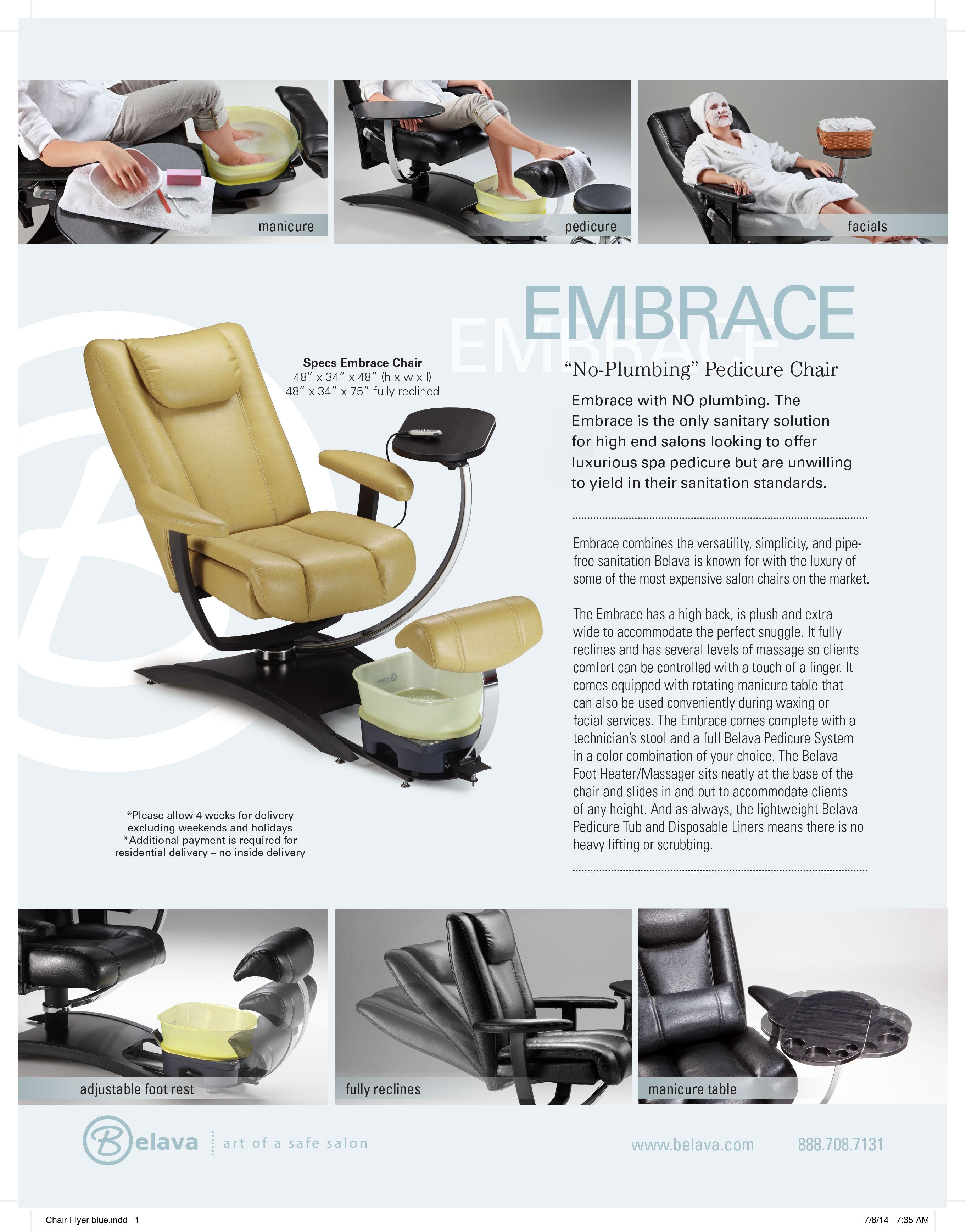 Belava Pedicure Chair Belava Embrace Chair Advertisements Mobile Nail