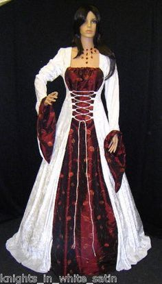 Medieval Handfasting Dress Renaissance Wedding By Camelotcostumes Holy Cow Im In Love With This