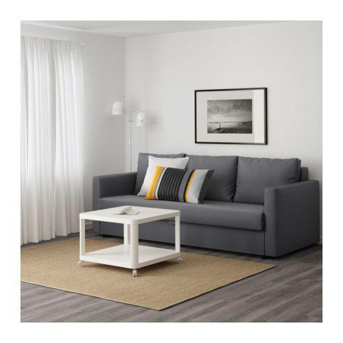 FRIHETEN Divano letto a 3 posti - Skiftebo grigio scuro - IKEA ...