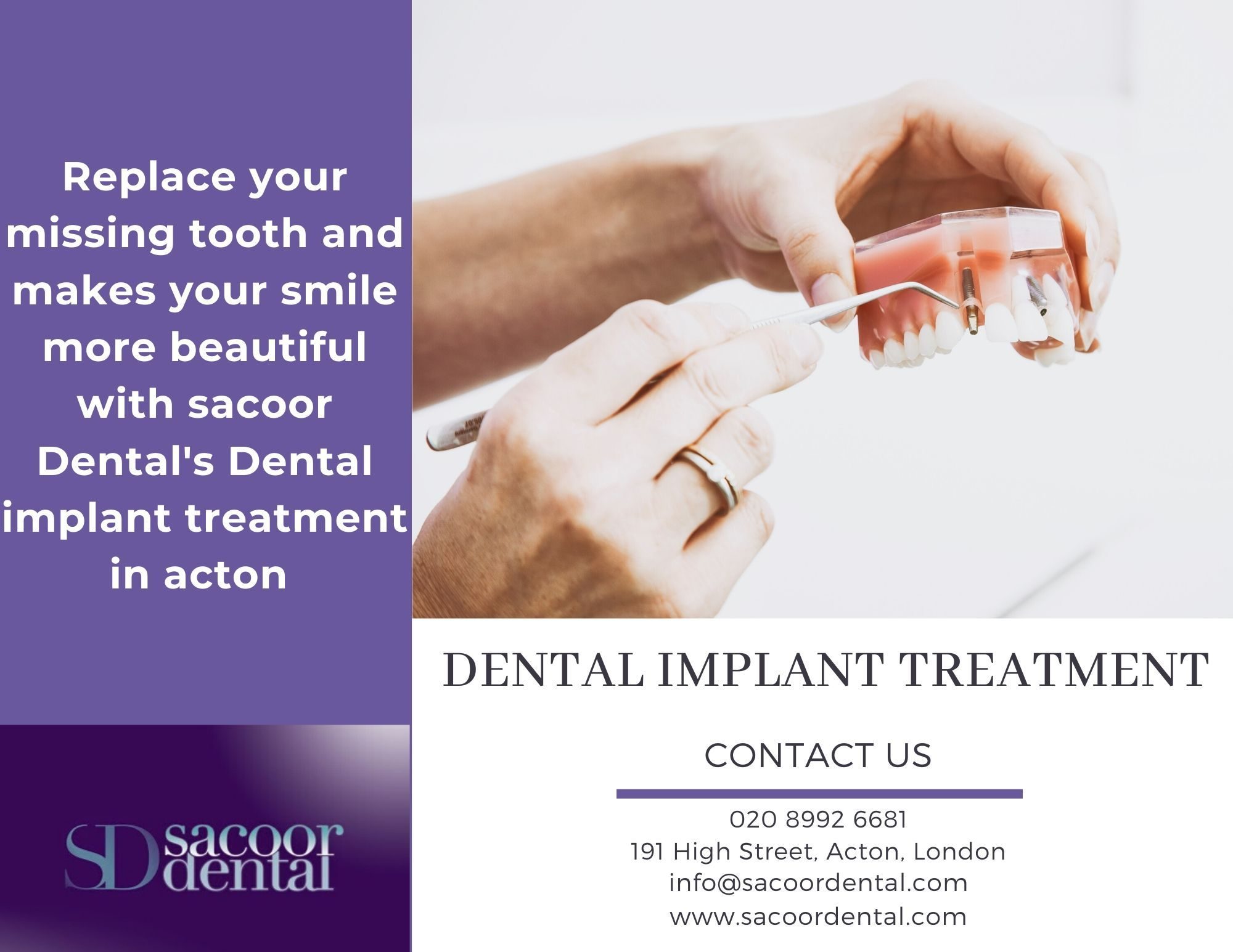 Dental Implant Is A Surgical Procedure For Replacing Missing Teeth