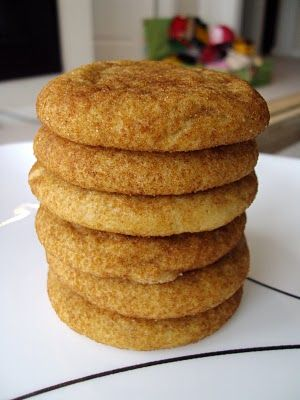 snickerdoodles are kind of like gingersnaps minus the ginger-- a vanilla cookie covered in cinnamon sugar