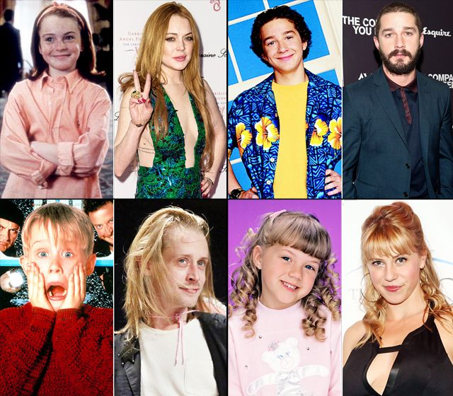 Child Stars Gone Bad   Kid Actors   Celebrity kids