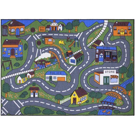 Home Kids Area Rugs Cool Rugs Road Rug