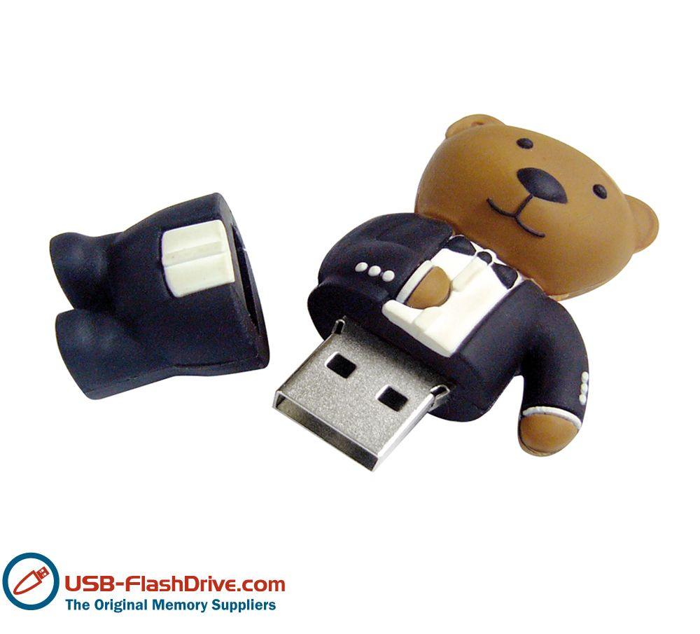 Teddy Bear Shaped Usb Flash Drive Tech Style Accesories