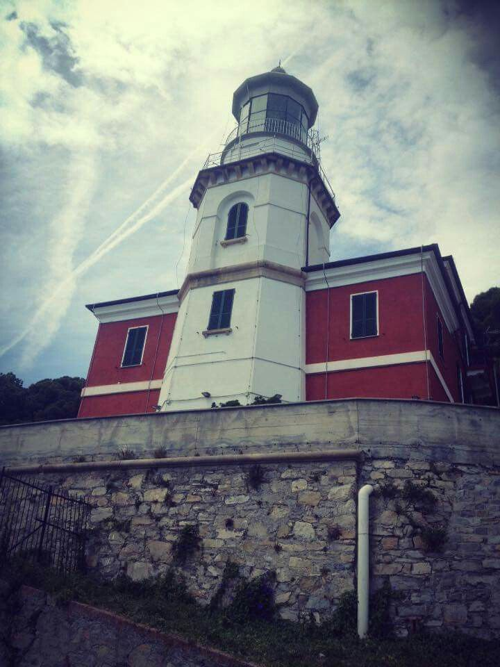 Lighthouse of Capo Mele, Andora, Liguria, Italy. Credit: Gabriella Druetta