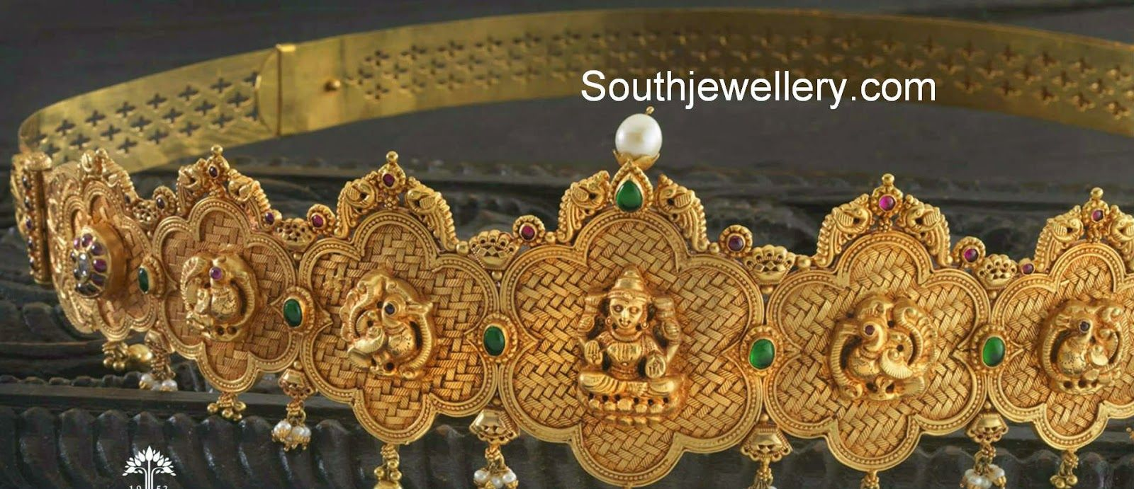 Gold vaddanam oddiyanam kammarpatta waisbelt designs south indian - Traditional Gold Vaddanam South Indian Jewellerywaist Beltsjewellery Designsjewelry