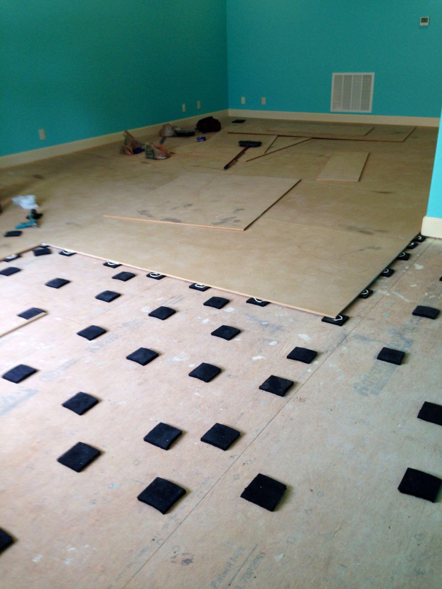 Sprung Floor Foam Blocks Floor Matttroy