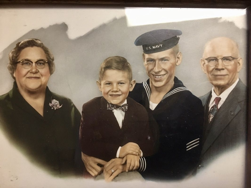 Remembering #family #portrait #life #retired #WWII #MemorialDay #thoughts #memories