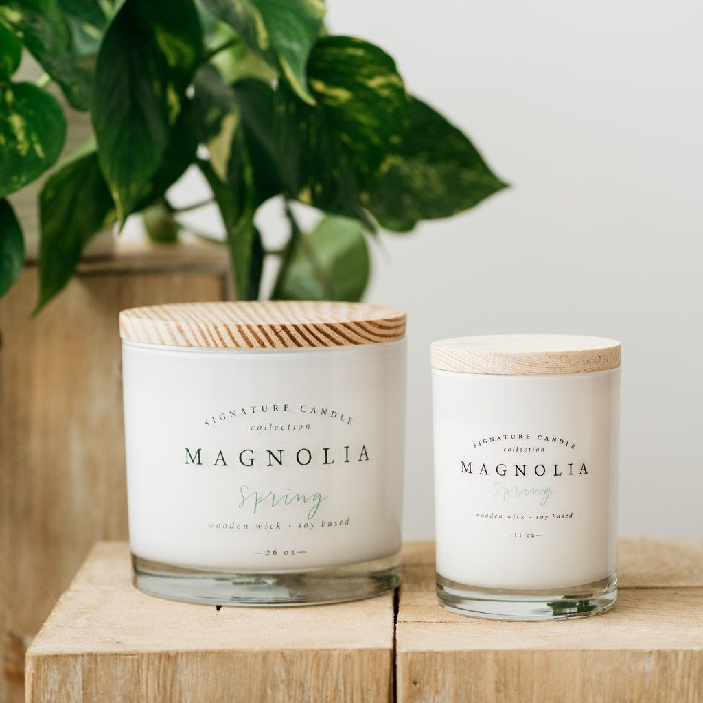 Magnolia Spring Candle Candles Collection