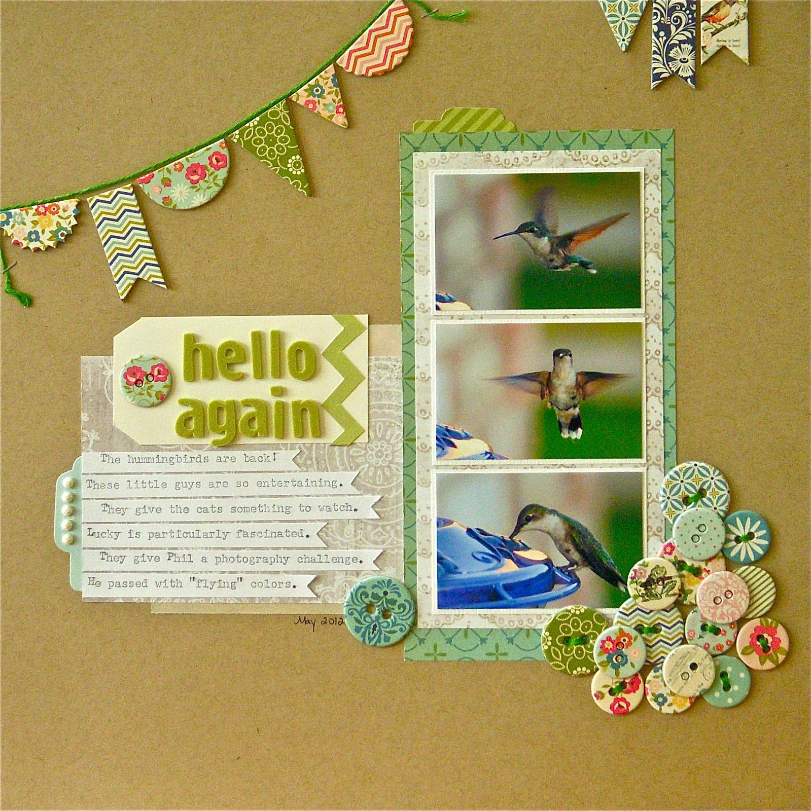 Scrapbook ideas goodbye -  Saying Goodbye To Summer Sue Althouse Scrapbooking
