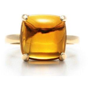 95fc398e2 Tiffany Inspired Paloma Picasso Sugar Stack Ring Citrine - Polyvore ...