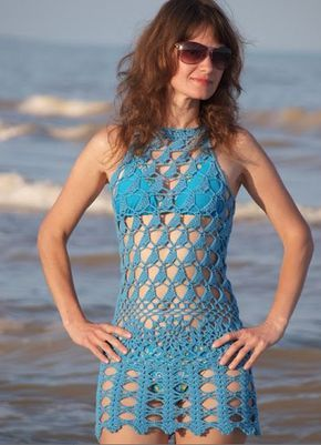 cd0a99e043 Crochet; el tejido de moda | salidas de playa crochet | Tejidos de ...