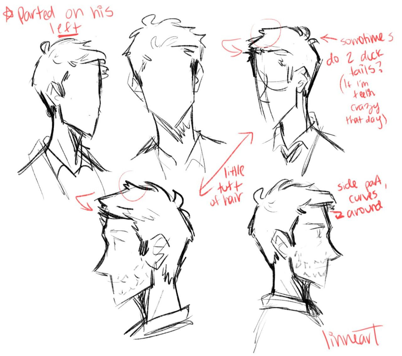 how to draw supernatural characters