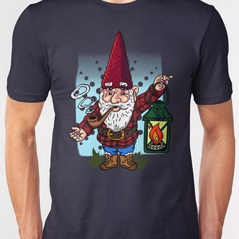 """Hip Gnome"" T-Shirts and Apparel Now on #Redbubble rdbl.co/2kQvz2t"