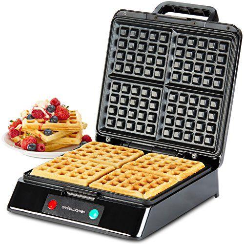 andrew james 4 slice belgian waffle maker in metallic red    https   andrew james 4 slice belgian waffle maker in metallic red    https      rh   pinterest com