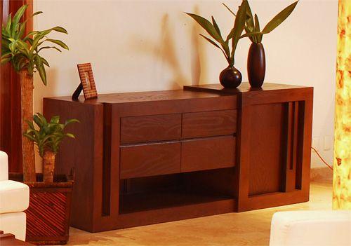Bufetero de madera solida elaborado en madera de fresno muebles in 2018 pinterest diy - Samarkanda muebles ...