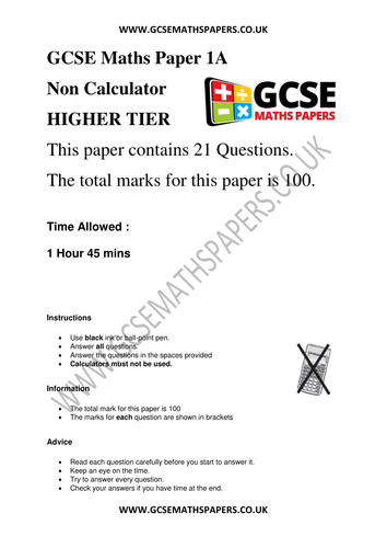 NEW GCSE MATHS Practice Papers   Maths, Gcse revision and Teaching ...