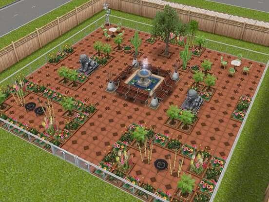 Garden Sims Freeplay Sims Freeplay Houses Sim Freeplay Boho Exterior