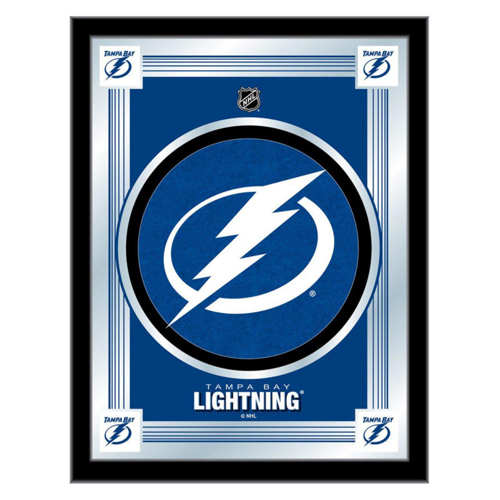Logo Mirror 17w X 22h In Tampa Bay Lightning Tampa Bay Lightning Logo Lightning Logo [ 1600 x 1600 Pixel ]