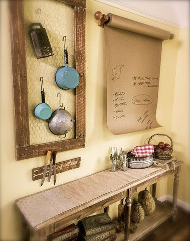 DIY Country Kitchen Accents | KENNETH WINGARD | DIY Projects ...