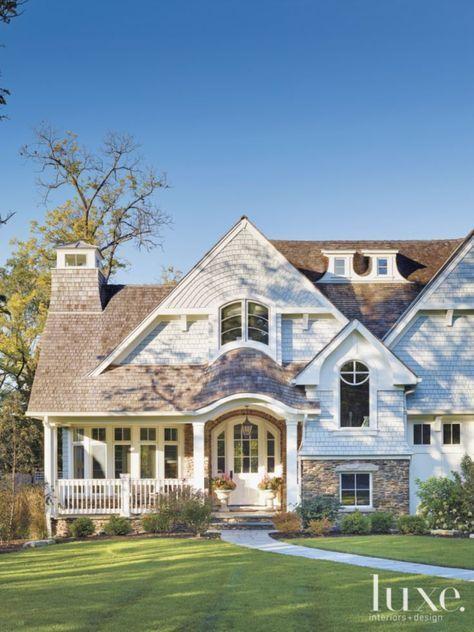 Inspirational Nantucket Shingle Style Home Shingle Style Homes House Exterior House Styles