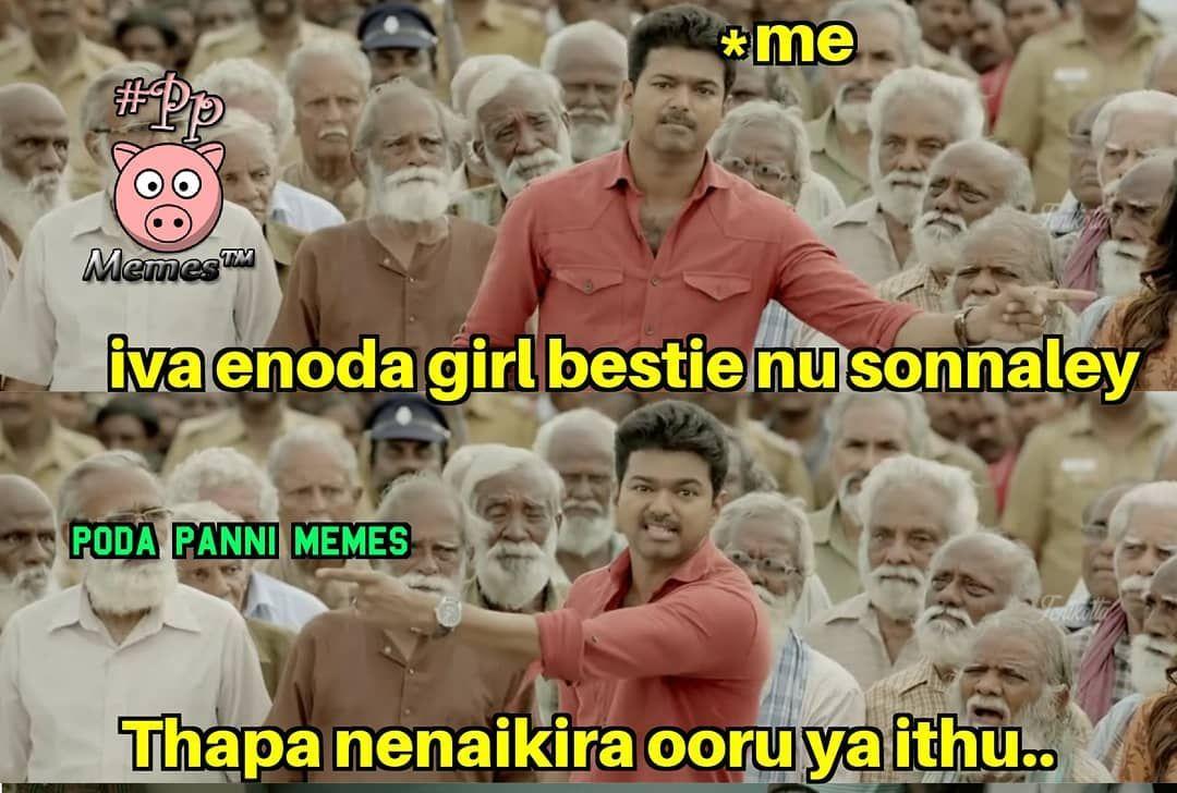 962 Likes 24 Comments Poda Panni Memes 12k Poda Panni Memes On Instagram Comedy Memes Tamil Comedy Memes Top Memes