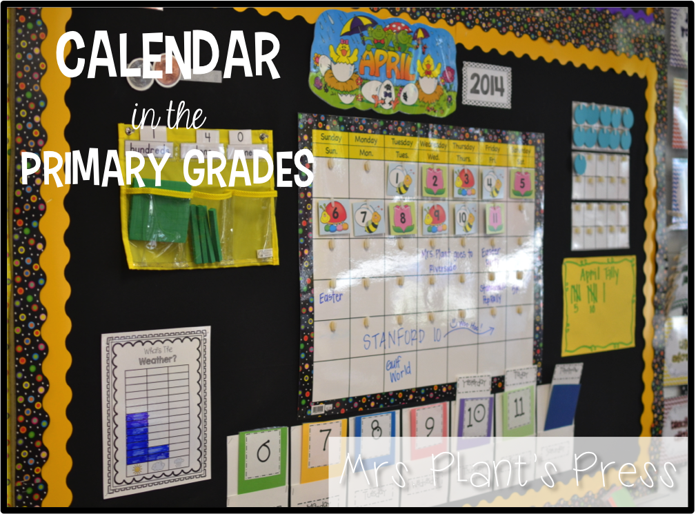 Great Ideas For Making Calendar Time Meet Common Core Standards