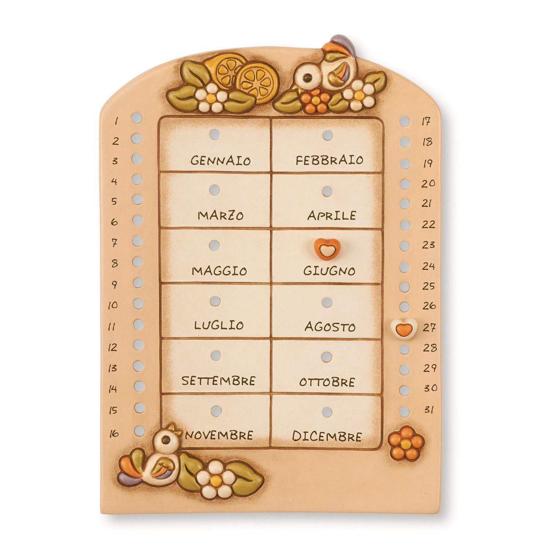 Calendario Avvento Thun.Calendario Perpetuo Da Muro Thun Confetti E Bomboniere