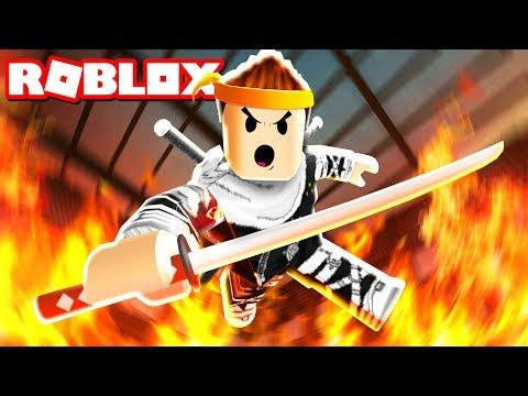 NINJA TRAINING OBBY IN ROBLOX - YouTube | Roblox | Games roblox