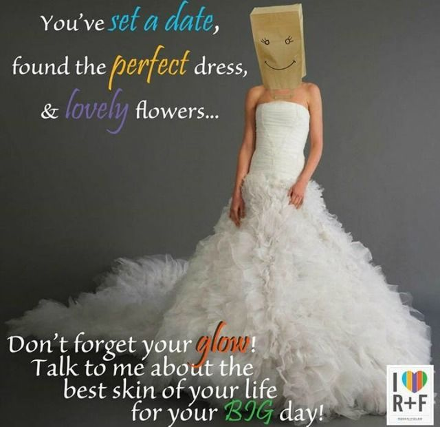 There are so many things to worry about on your wedding day, don't let your skin be one of them!