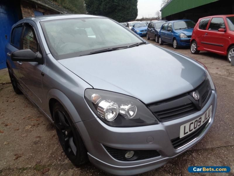 Car For Sale 2009 Vauxhall Astra 1 8 Sri Xp Silver Only 53 890