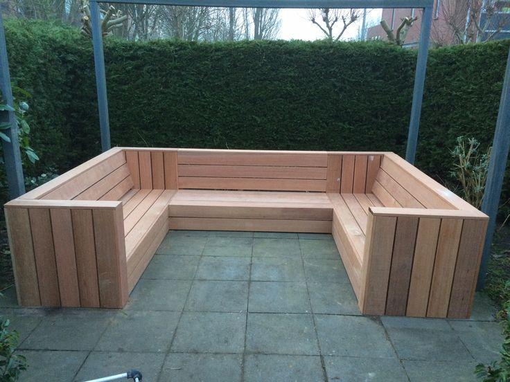 Outdoor Sofa Palette Exterieure Meubles De Jardin En Bois Et
