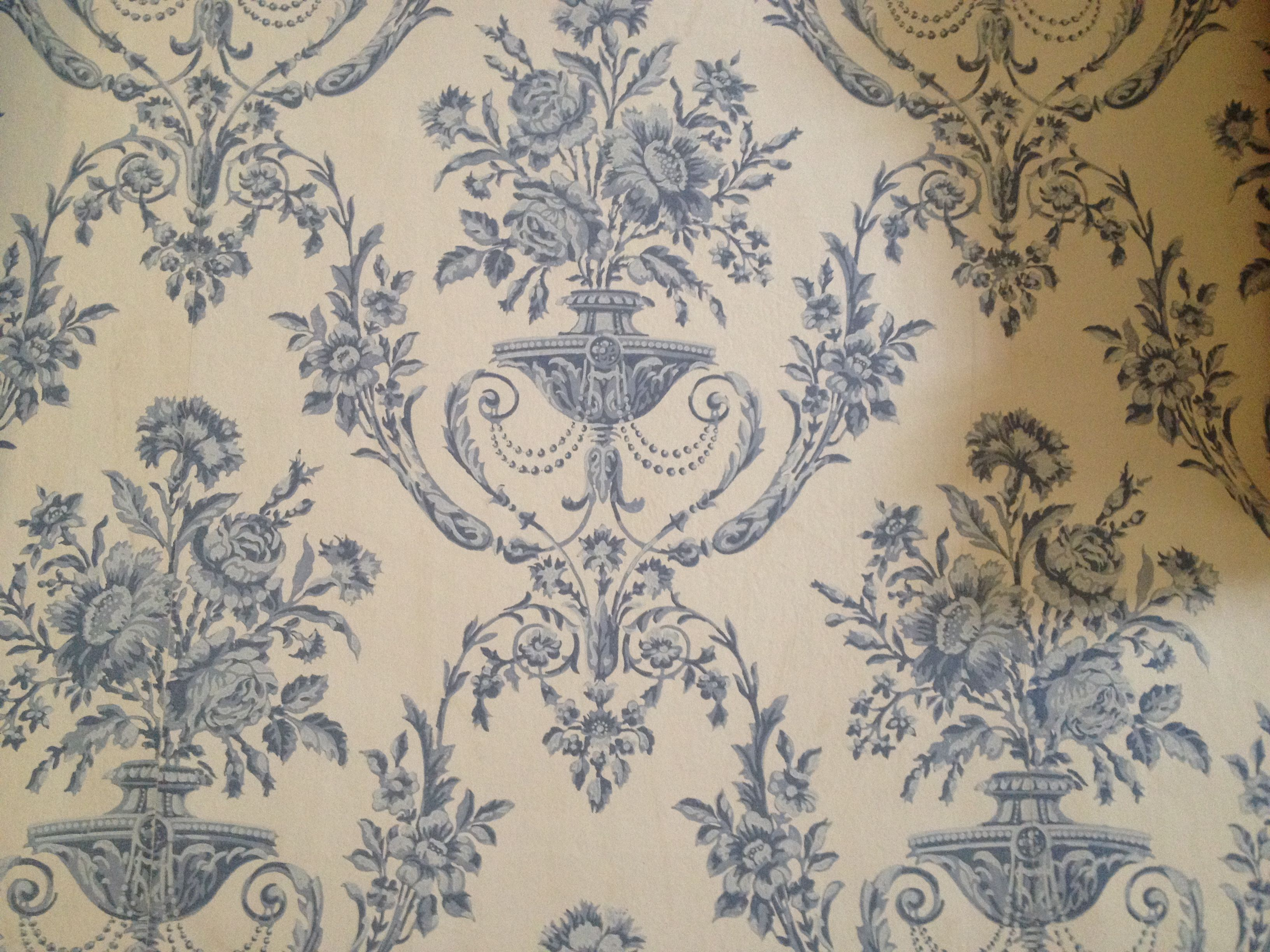 Wallpaper at Petworth House, West Sussex Artwork, Pearl